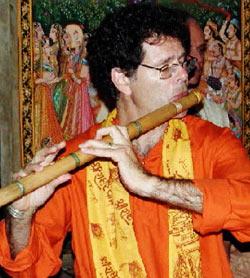 Steve Gorn at Ananda Ashram