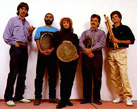 Howard Levy, Glen Velez, Layne Redmond, John Clark, SG