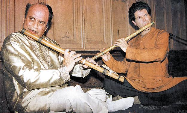 Pt. Raghunath Seth and Steve Gorn