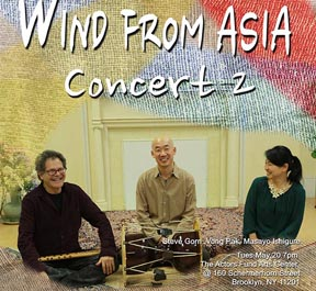 Wind from Asia